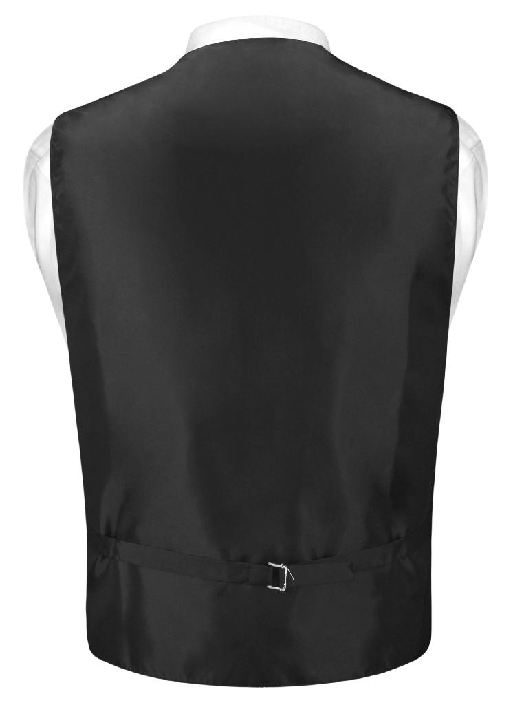 dbb522747dbf Mens Dress Vest BowTie Gold Black Color Woven Striped Bow Tie Set