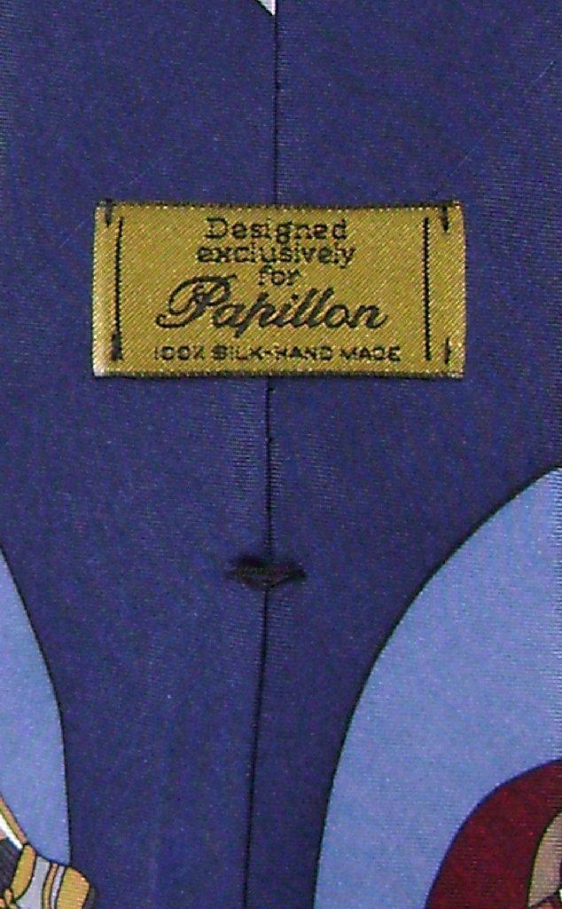 Papillon 100% Silk NeckTie Football Design Mens Neck Tie #124-4