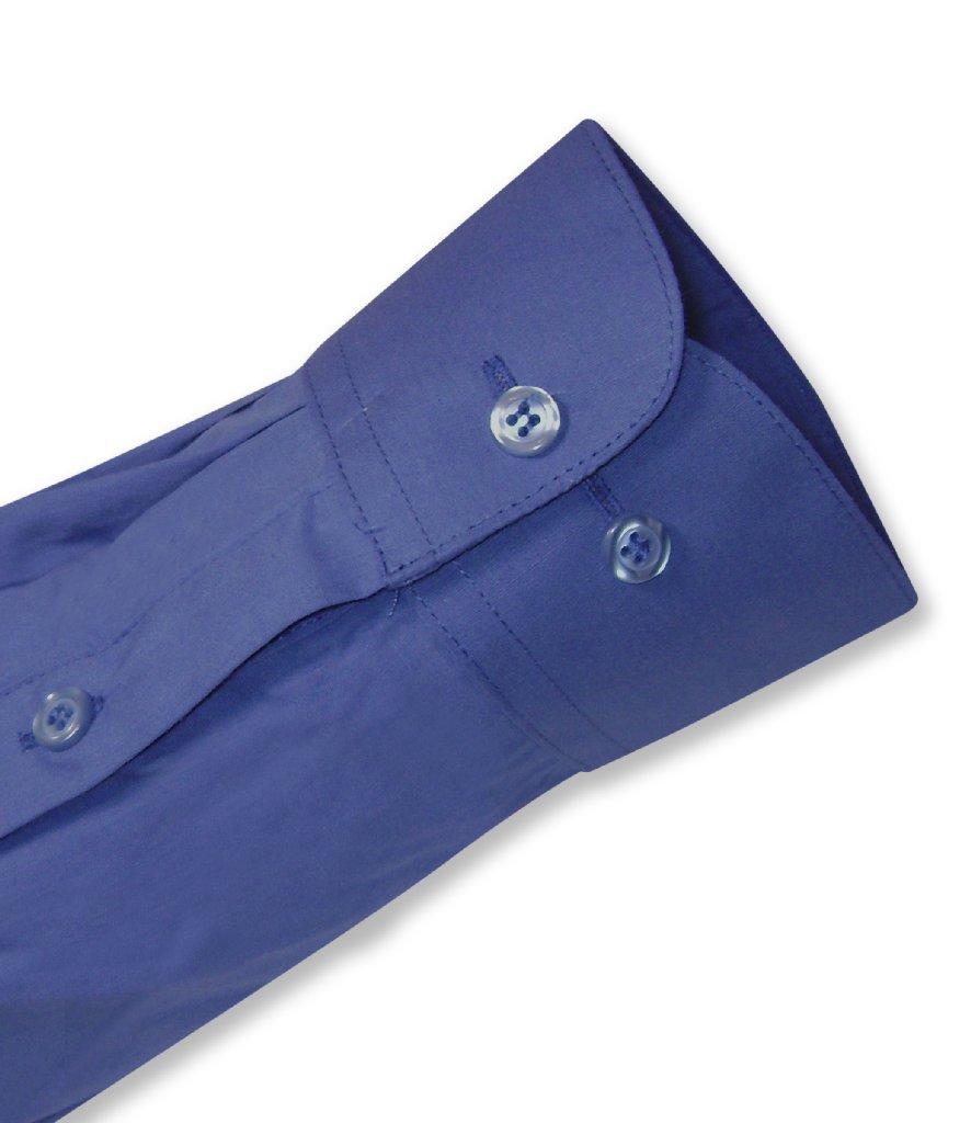 Royal Blue Mens Dress Shirts | Mens Cotton Royal Blue Dress shirt