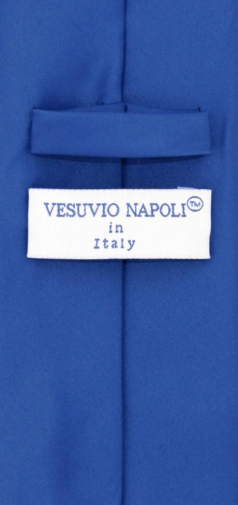 Extra Long Royal Blue Tie Set | Solid Royal Blue Color XL NeckTie