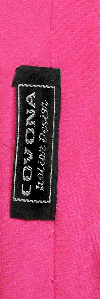100% Silk Narrow NeckTie Extra Skinny Hot Pink Fuchsia Mens Neck Tie