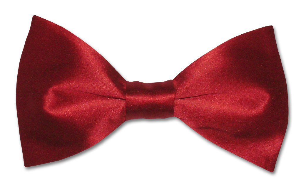 81524c9a7bcf Solid Dark Red Color Mens Bowtie | Biagio Silk Pre Tied Mens Bow Tie