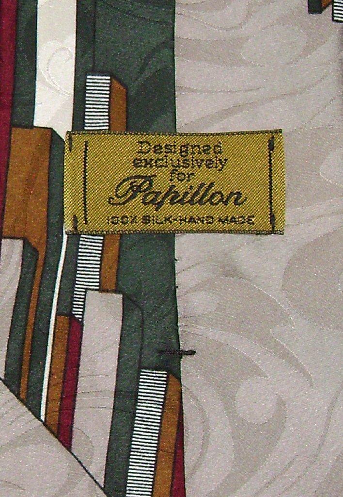 Papillon 100% Silk NeckTie Pattern Design Mens Neck Tie #339-3