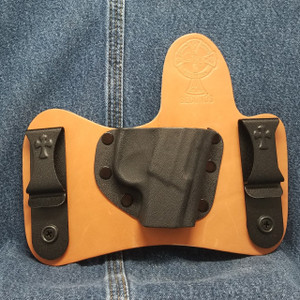 12986 CrossBreed MiniTuck KEL-TEC P3AT Right Hand Premium Hardrolled Cow