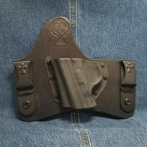 13233 CrossBreed SuperTuck SMITH & WESSON M&P Compact / Left Hand / Black Cow / Combat Cut