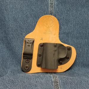 13354 CrossBreed Appendix Carry KIMBER MICRO 9 / Left Hand / Horse