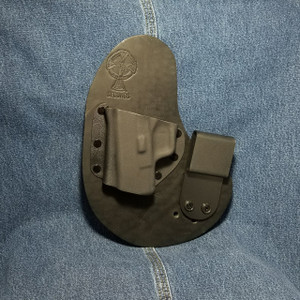 13578 CrossBreed QwikClip SPRINGFIELD XDS / Left Hand / Black Cow