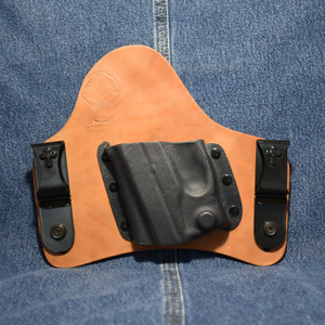 13982 CrossBreed SuperTuck RUGER LC9 with Viridian R5 ECR Reactor / Left Hand / Horse
