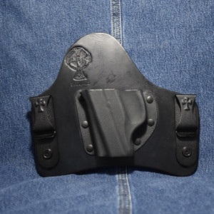 13984 CrossBreed SuperTuck RUGER LC9 / Left Hand / Black Cow
