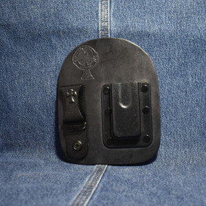 MC0063 CrossBreed IWB Mag Carrier Single Stack 9/40 / Right Side Carry / Black Cow