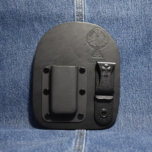 MC0066 CrossBreed IWB Mag Carrier SMITH & WESSON SHIELD 9/40 / Left Side Carry / Single / Black Cow