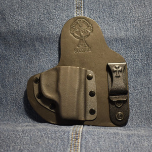14404 CrossBreed Appendix Carry RUGER LCP / Right Hand / Black Cow