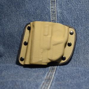 MP009 CrossBreed Modular Pocket SMITH & WESSON SHIELD 45 with Crimson Trace LG-485 / Left Hand / Flat Dark Earth Pocket
