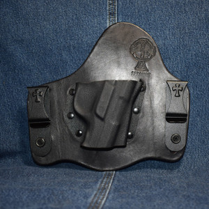 14426 CrossBreed SuperTuck RUGER SR9 / Right Hand / Black Cow