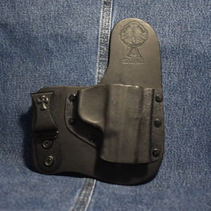 14643 CrossBreed Freedom Carry SMITH & WESSON M&P COMPACT with HIGH SIGHTS / Right Hand / Black Cow