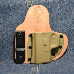 14682 CrossBreed Appendix Carry SPRINGFIELD XDS / Left Hand / Horse / Flat Dark Earth Pocket