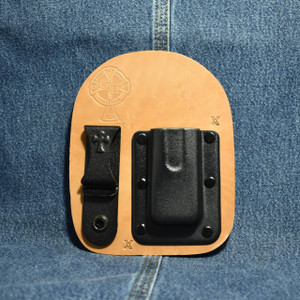 MC0114 CrossBreed IWB Mag Carrier / SMITH & WESSON SHIELD 9/40 / Right Carry / Horse