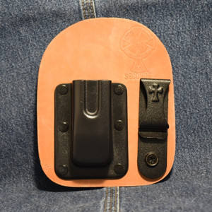 MC0117 CrossBreed IWB Mag Carrier Double Stack 9/40 / Left Side Carry / Single / Horse