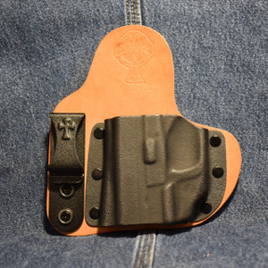 14865 CrossBreed Appendix Carry SPRINGFIELD XDS with CRIMSON TRACE LG-469G / Left Hand / Horse