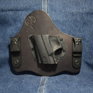 14914 CrossBreed SuperTuck WALTHER CCP / Left Hand / Black Cow