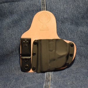14934 CrossBreed Appendix Carry SMITH & WESSON SHIELD 9/40 with CRIMSON TRACE LG-489G / Left Hand / Horse