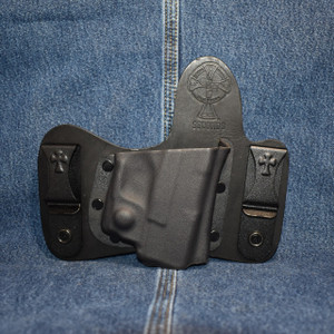 14950 CrossBreed MiniTuck SPRINGFIELD XDS with VIRIDIAN R5 ECR REACTOR / Right Hand / Black Cow