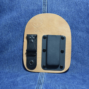 MC0162 CrossBreed IWB Mag Carrier SINGLE STACK 9/40 / Right Side Carry / Horse