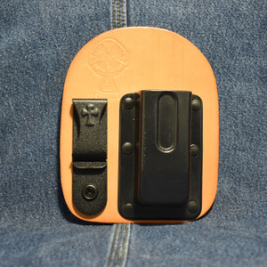 MC0173 CrossBreed IWB Mag Carrier DOUBLE STACK 45 / Right Side Carry / Premium Hardrolled Cow