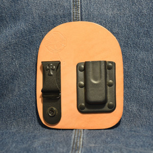 MC0179 CrossBreed IWB Mag Carrier SINGLE STACK 380 / Right Side Carry / Premium Hardrolled Cow