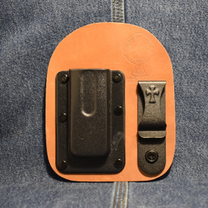MC0187 CrossBreed IWB Mag Carrier SINGLE STACK 45 / Left Side Carry / Horse