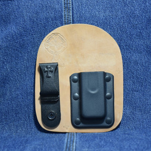 MC0190 CrossBreed IWB Mag Carrier * SINGLE STACK 9 / Right Side Carry / Horse