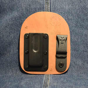 MC0191 CrossBreed IWB Mag Carrier SINGLE STACK 9 / Left Side Carry / Horse