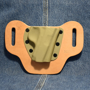 15080 CrossBreed DropSlide SIG P238 / Right Hand / Black Cow / Flat Dark Earth Pocket