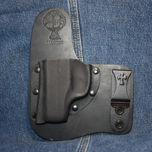 15092 CrossBreed Freedom Carry RUGER LC9 / Left Hand / Black Cow