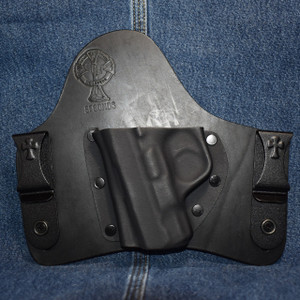 15133 CrossBreed SuperTuck SMITH & WESSON SHIELD 9/40 / Left Hand / Black Cow