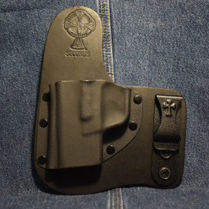 15191 CrossBreed Freedom Carry SPRINGFIELD XDS / Left Hand / Black Cow