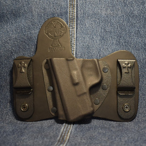 15283 CrossBreed MiniTuck SPRINGFIELD XDS / Left Hand / Black Cow