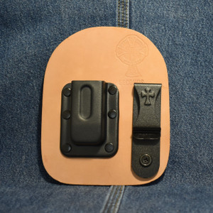 MC0207 CrossBreed Single  IWB Mag Carrier GLOCK 42 / Left Side Carry / Horse