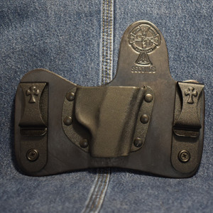 15293 CrossBreed MiniTuck RUGER LCP / Right Hand / Black Cow