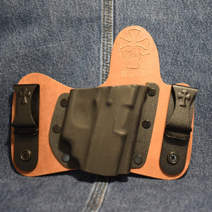 15296 CrossBreed MiniTuck KAHR P/TP 9/40 with CRIMSON TRACE LG-437 / Right Hand / Founders Series