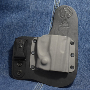 15315 CrossBreed Freedom Carry RUGER LC9 with VIRIDIAN R5 ECR REACTOR / Right Hand / Black Cow / Sniper Gray Pocket