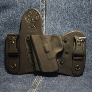 15370 CrossBreed MiniTuck SPRINGFIELD XDS / Left Hand / Black Cow