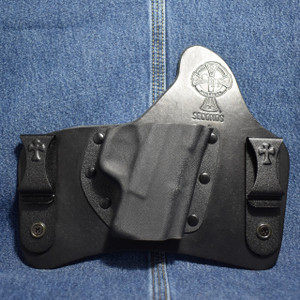 15422 CrossBreed SuperTuck SPRINGFIELD XDS / Right Hand / Black Cow / Combat Cut