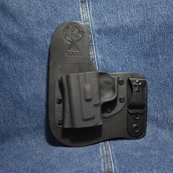 """13904 CrossBreed Freedom Carry SPRINGFIELD XD MOD2 3"""" 9/40 / Left Hand / Black Cow"""