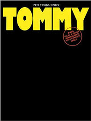 The Who's Tommy Vocal Selections/Sheet Music