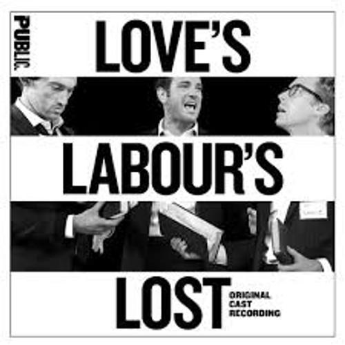 Love's Labor's Lost Cast Recording CD