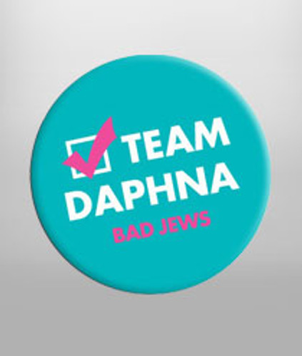 Team Daphna Button