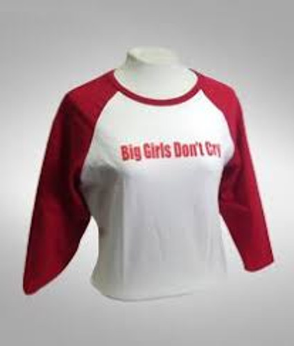 Jersey Boys Big Girls Don't Cry Ladies Tee