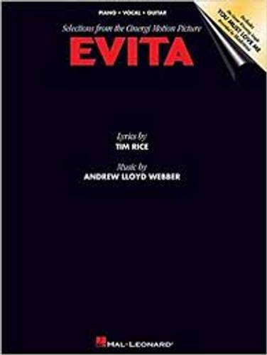 Evita Vocal Selections/Sheet Music