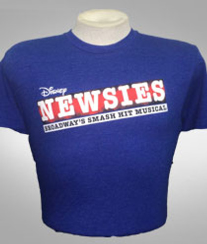 Newsies - Logo Tee - Unisex